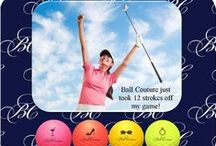 Ball Couture / Ball Couture is Where Fashion Meets Golf. Not only will you look good, you will see your performance improve. Don't wait any longer and give them a try. www. ballcouture.com