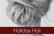 Holiday Hair  / We what you to look fabulous this holiday season. So, this board is meant for you to gather inspiration to style your hair for those holiday events. #OliviaGarden #BeautyTools