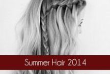 Summer Hair 2014 / This board showcases 2014 summer hairstyles and looks. #OliviaGarden #BeautyTools