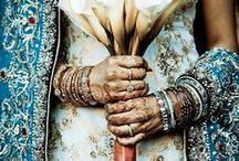 Indian Wedding Decor / Beautiful, Indian fusion inspired wedding decor