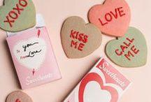 Valentine's Day / Valentine's Cards, Snacks & Decor