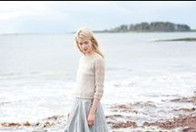 Warm Weather Knits / Patterns to inspire your spring and summer knitting.