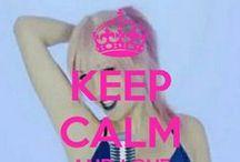 <3 Keep Calm: Alba Reig <3 / Este tablero lo he creado para tener todos los Keep calms de Alba Reig :)