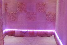 Vasca di Sale Rosa / La nostra vasca di sale rosa caldo (la prima di Bologna e provincia) allevia le tensioni muscolari ed articolari, cervicale, problemi di circolazione, dermatiti e psoriasi.