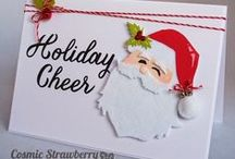 Christmas Cards - Cosmic Strawberry / Just a few of my Christmas makes