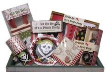 we theme ... pirate party / Yo ho ho! It's a Pirate Party! Our Pirate range is unique in every way from wearable invitations, pop up party hats and exquisite gift bags with goggly eyes to take home.  Purchase our complete Pirate Party Kit or browse our shop to create your own Pirate theme.  Environmentally friendly and recyclable. Available from www.lovetheoccasion.com.au