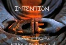 POWER OF INTENTION / Intention is the cause of any manifestation in life