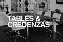 Boss Design Tables & Credenzas