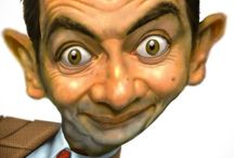 Celebrity Caricatures ✫*¨*.¸.✶ / Whimsical caricatures of famous faces . . . / by Barbara Button
