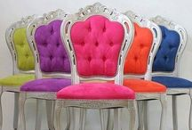 C h a i r s / Chairs make fabulous room accents! / by Barbara Button