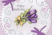 Tassie Scrapangel - * 1 Female Birthday / Birthday cards hand made and sold to raise money for the local Cancer Council of Tasmania