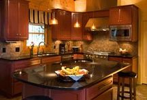 Log: Beautiful Kitchens / beautiful log home kitchens.