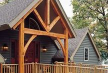 Timber frame: Beautiful Exteriors