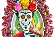 Dia De Muertos / Day of the Dead, or Día de Muertos, is a Mexican Holiday that has really caught the attention of Katherine's Collection. Group bright colored flowers, skeletons, and butterflies for a party setting that's to die for!