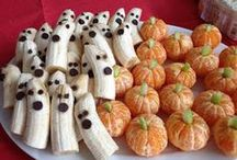Healthy Haunted Halloween Snacks