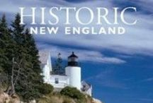 Historic New England magazine / Historic New England magazine features beautiful photography and informative articles written by Historic New England staff members and guest authors. Visit some of the region's best historic landscapes and homes, learn more about the objects and collections that tell the stories of New England past, and learn preservation tips from our staff experts. Become a member of Historic New England and receive the latest issue at your door.