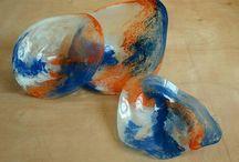 blown glass  φυσητό γυαλί / Blown glasss φυσητο γυαλι