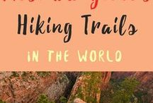 Hiking Trails / Pictures of the most beautiful, dangerous and deadly hiking trails in the world.