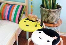 DIY Tabouret Frosta Ikea Hacking