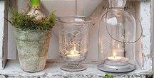 Lamper og lanterner og lys