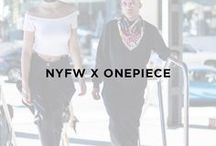 NYFW X Onepiece / Fashion meets comfort - Onepiece at New York Fashion Week 2016