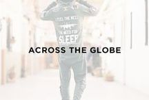 Across the globe / Let's get away !