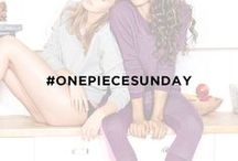 #OnepieceSunday / Sunday is our favorite day of the week. Show us your #onepiecesunday, cozy at home, having a Sunday Funday, or a traditional Onepiece and chill. Join our Sunday Club in ultimate comfort!