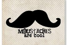 moustaches :{o / by Abby Bauer