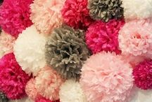 "Drop Down Decor Ideas from ""The In Thing ..."" / Create a feature, hide a high ceiling, add colour quickly & ""The In Thing ... "" has all the Lights you can add to create a truly wonderful display.   Pom Pom & Paper Lanterns & lots more ideas / by The In Thing"