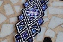 Beading - Peyote or brick stich patterns / Peyote or brick stitch patterns / by Lilla Pongor