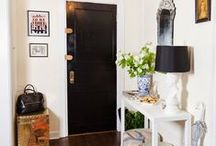 the hallway / hallway spaces transformed