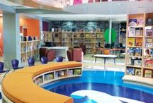 School Library Design / Ideas for the design of school libraries.