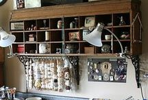 Sewing Room Ideas / by laugh yourself into Stitches*