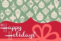 Happy Holidays / Holiday Illustrations and Graphics by Home Artisans of Indiana
