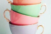 Thé / Tasses, astuces et décoration au tour du thé