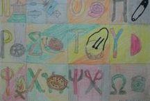 Παιδική τέχνη / εργασίες παιδιών στο μάθημα των εικαστικών
