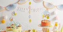 Circus Theme Party / Zijn de kinderen klaar voor het Silly Circus feestje? Are the kids ready for a Silly Circus Party?