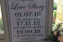 Wedding Day Signage / Inspiration for wedding signs. / by Washingborough Hall Hotel
