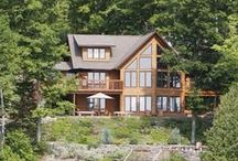 Log Cabin Homes / Log Home Designs, Log Home Pictures, Log Home Floorplans , , Cabins, Homes. Rustic, or Modern