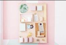 BUREAU / Idées pour avoir un joli bureau