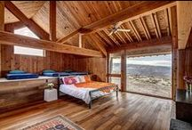 Log Home Bedrooms and Loft Inspiration / Design Ideas for our fans who are building a log home