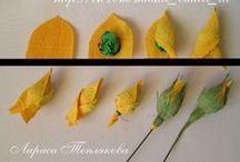 handwork flowers & cactus 1