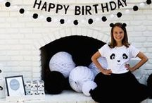 Monochrome Party / Niet zo fan van een druk geheel? Kies dan voor een Monochrome thema feest! Alles in de kleuren zwart & wit. / Not a fan of bustle? Choose a Monochrome theme party! Everything in black & white.