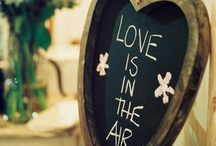 Love is in the air! / Love is in the air is a treasure trove of ideas for the 'big day'!  But most ideas can be transfered to any special occasion...
