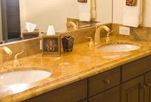 Wood Bath Cabinetry - Traditonal
