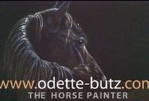 THE HORSE PAINTER - LA PINTORA DE CABALLOS / FOR ALL WHO LOVE HORSES - ART THAT SHOWES THE PERSONALITY AND THE DYNAMIC OF THE EQUINES. FROM ODETTE-BUTZ.COM, THE HORSE PAINTER