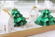 Christmas / Inspirations pour Noël : déco, cadeaux, DIY, table, ....