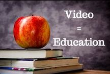 Video in Education / A collection of tips and tricks for teachers and students on how to use animated content in the classroom.