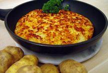 Batata, Batata Röstie, Potato, Pommes de Terre / by ribeirogabriel59@yahoo.com Gabriel Menezes Ribeiro