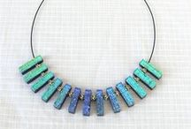 Wearable fused glass